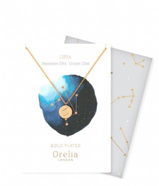 Orelia Ketting Ketting Sterrenbeeld Weegschaal pale gold (ORE23147)