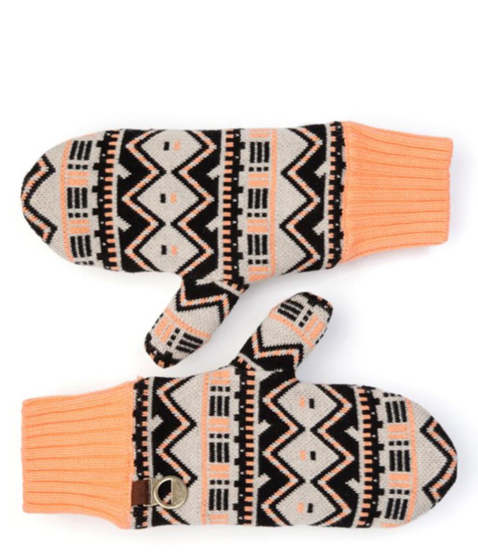 POM Amsterdam Handschoenen Mittens Folklore Love Rood