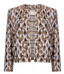 The Little Green Bag NL-BE POM Amsterdam-Jasjes-Jacket Bright Leopard-Blauw