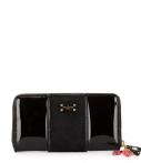 Pauls Boutique-Portemonnees-Lizzie Half Patent-Zwart thumbnail