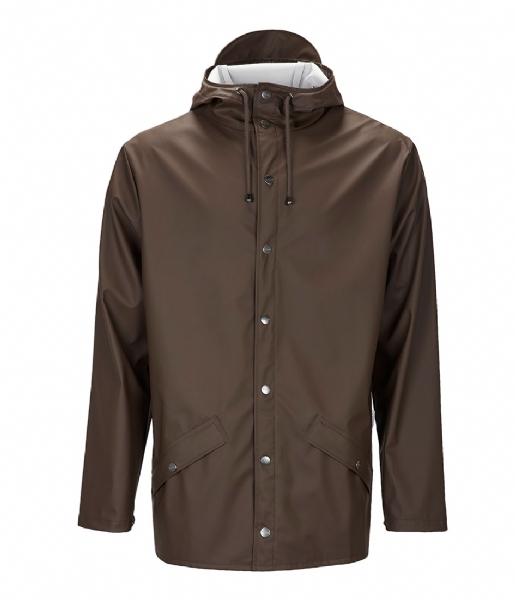 Rains Regenjas Jacket brown (26)