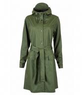 Rains Curve Jacket green (03)