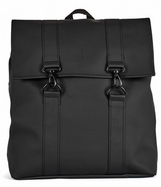Rains Laptop rugzak Msn Bag 15 Inch black (01)