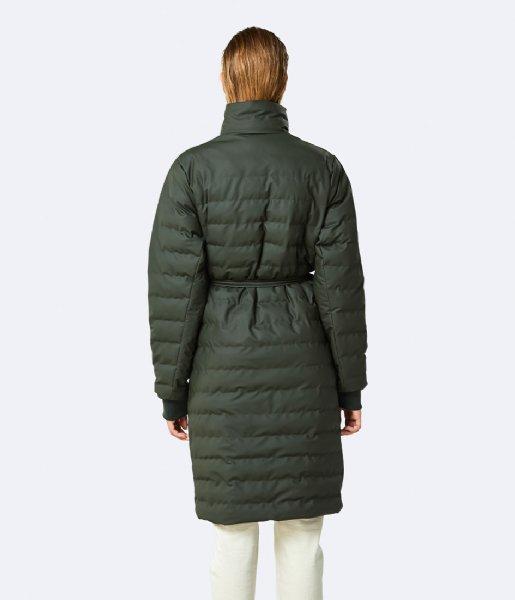 Rains Regenjas Trekker W Coat 03 Green