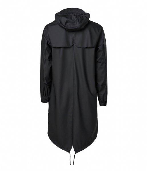 Rains Regenjas Fishtail Parka Black (01)