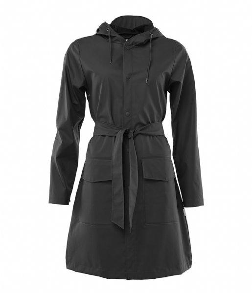 Rains Regenjas Belt Jacket black (01)