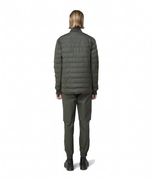 Rains Winterjas Trekker Jacket green (03)