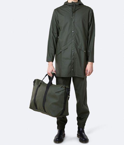 Rains Reistas Weekend Bag green (03)
