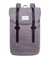 Sandqvist Backpack Stig Large 15 Inch grey grey (1051)