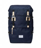 Sandqvist Harald 15 Inch navy with natural leather (1376)