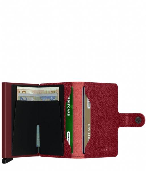 Secrid Pasjes portemonnee Miniwallet Veg rosso bordeaux