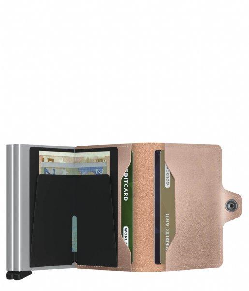 Secrid Pasjes portemonnee Twinwallet Metallic rose
