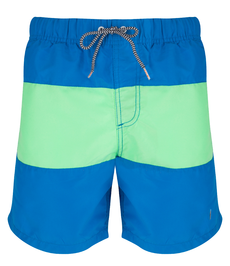 Shiwi Zwembroeken Swim Shorts Colour Block Blauw