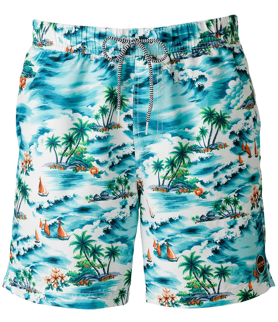 Shiwi Zwembroeken Swim Shorts Hawaii Groen