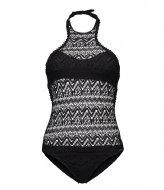 Shiwi Swimsuit High Neck Cool Croche black