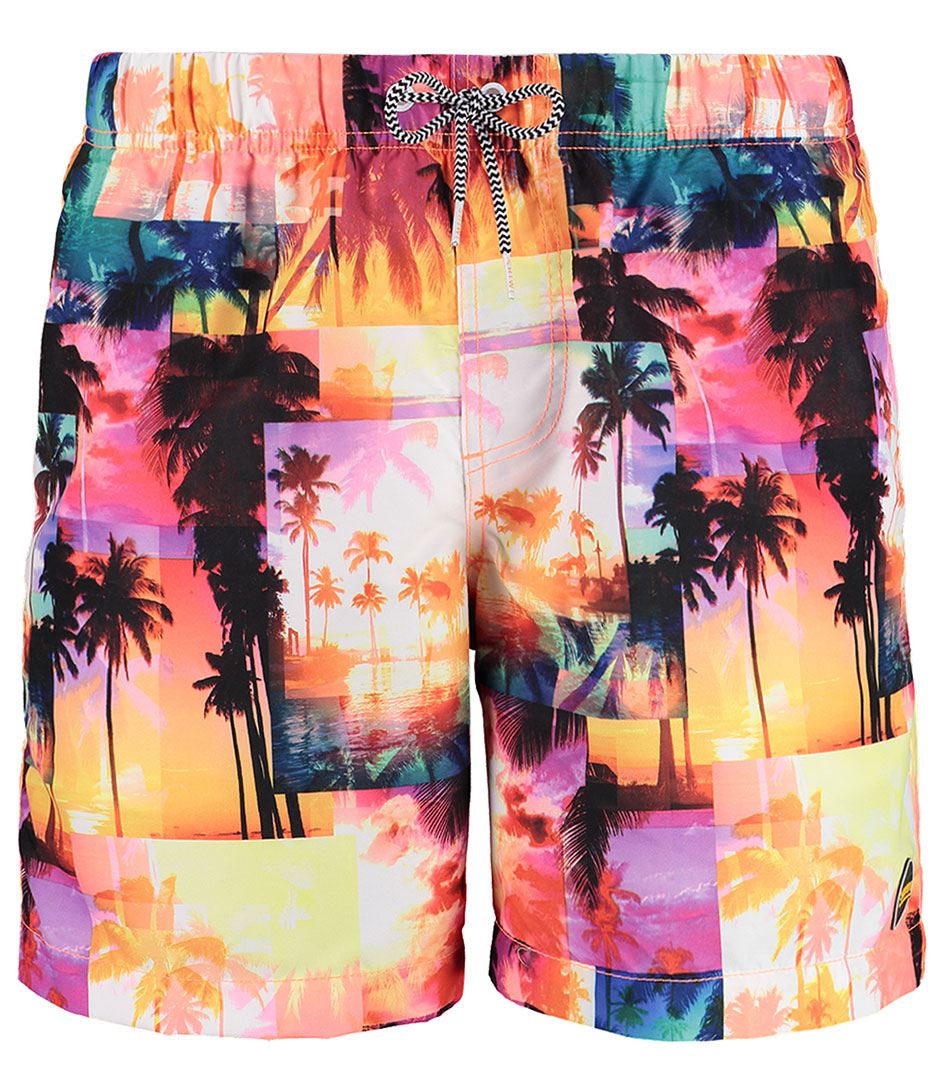 Shiwi Zwembroeken Kids Swim Shorts Miami Beach Roze
