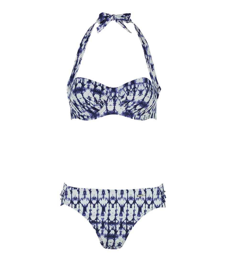 Shiwi Bikinis Bikini Balcony Padded Ties Cup B/C Blauw