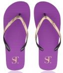 SuperTrash Slippers Sunny Solid Flipflops Roze