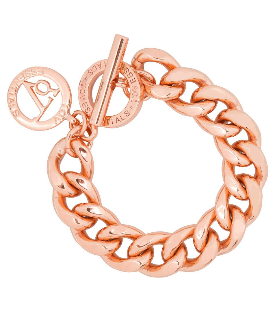 TOV Essentials Armbanden Small Flat Chain Bracelet