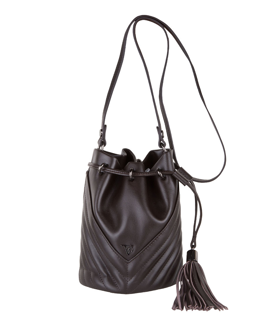 TOV Essentials Handtassen BB Baby Bucket Bag Bruin