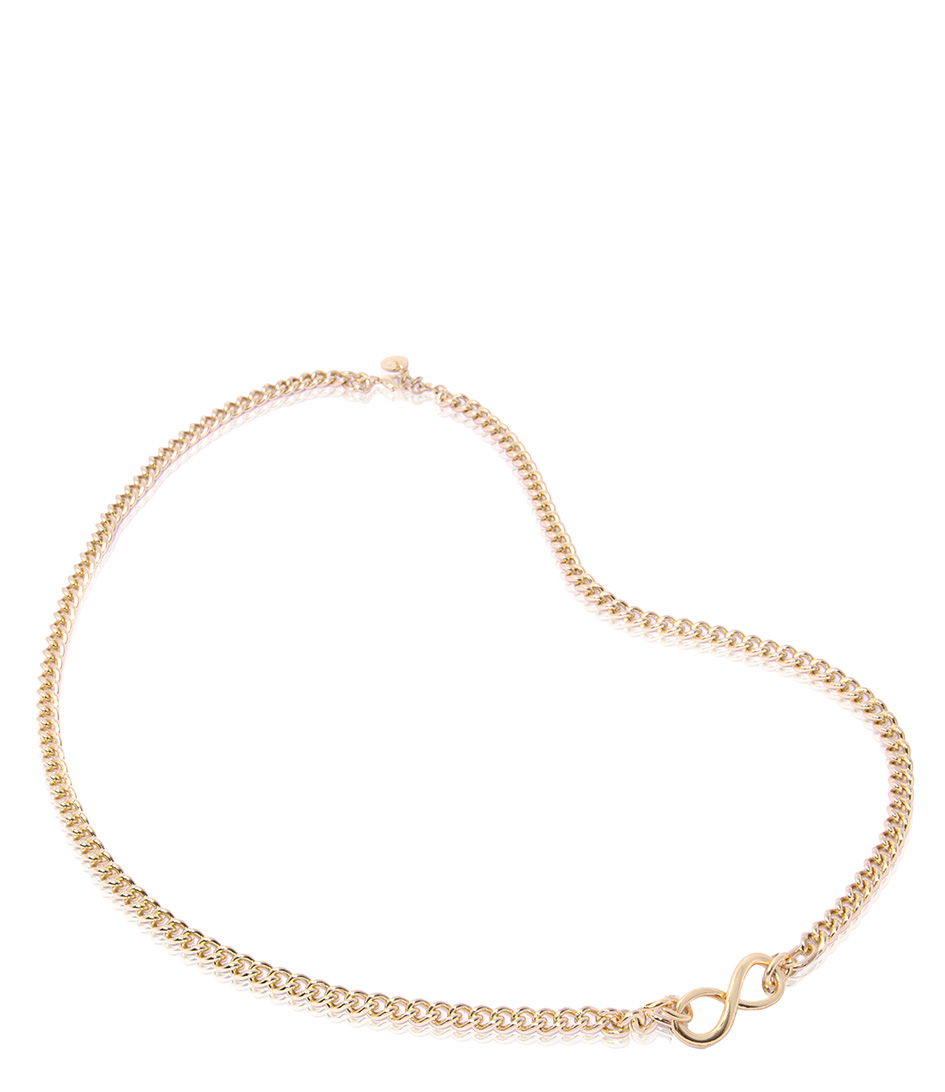 TOV Essentials Kettingen Infinity Gourmet Short Collier Goud