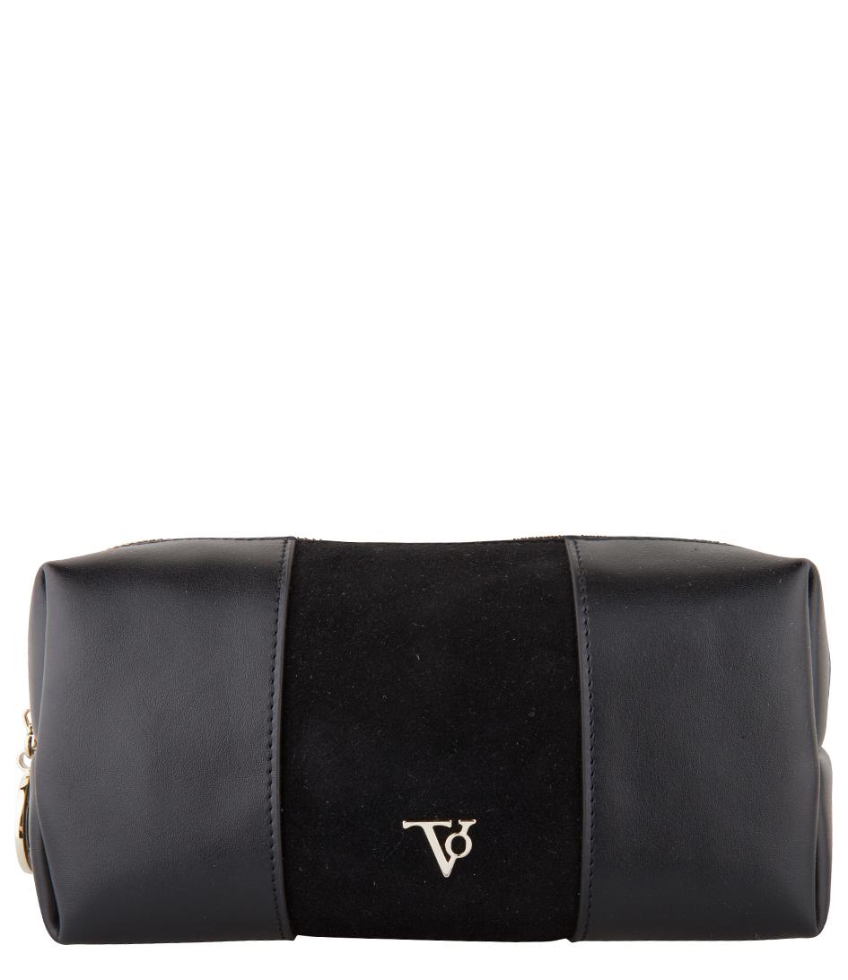 TOV Essentials Make up tasjes Farrah Cosmetic Bag Zwart