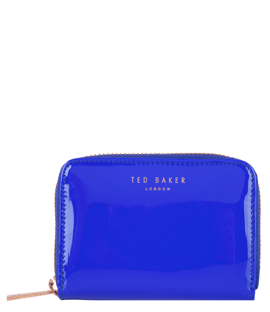 Omarion Zip Around bright blue Ted Baker | The Little ...