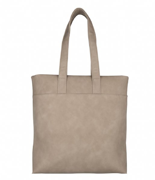 The Little Green Bag Laptop schoudertas Laptop bag Fayon 13 Inch Sand (230)