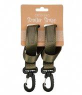 The Little Green Bag Stroller strap Koru Olive
