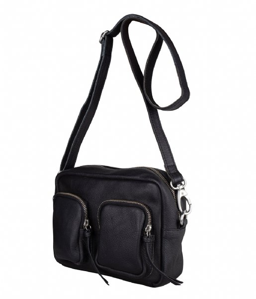 The Little Green Bag Crossbodytas Alder Crossbody Black (100)