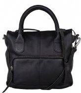 The Little Green Bag Yucca Handbag Black (100)