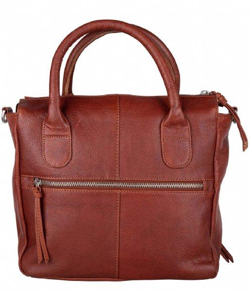 The Little Green Bag Handtas Yucca Handbag Cognac (300)