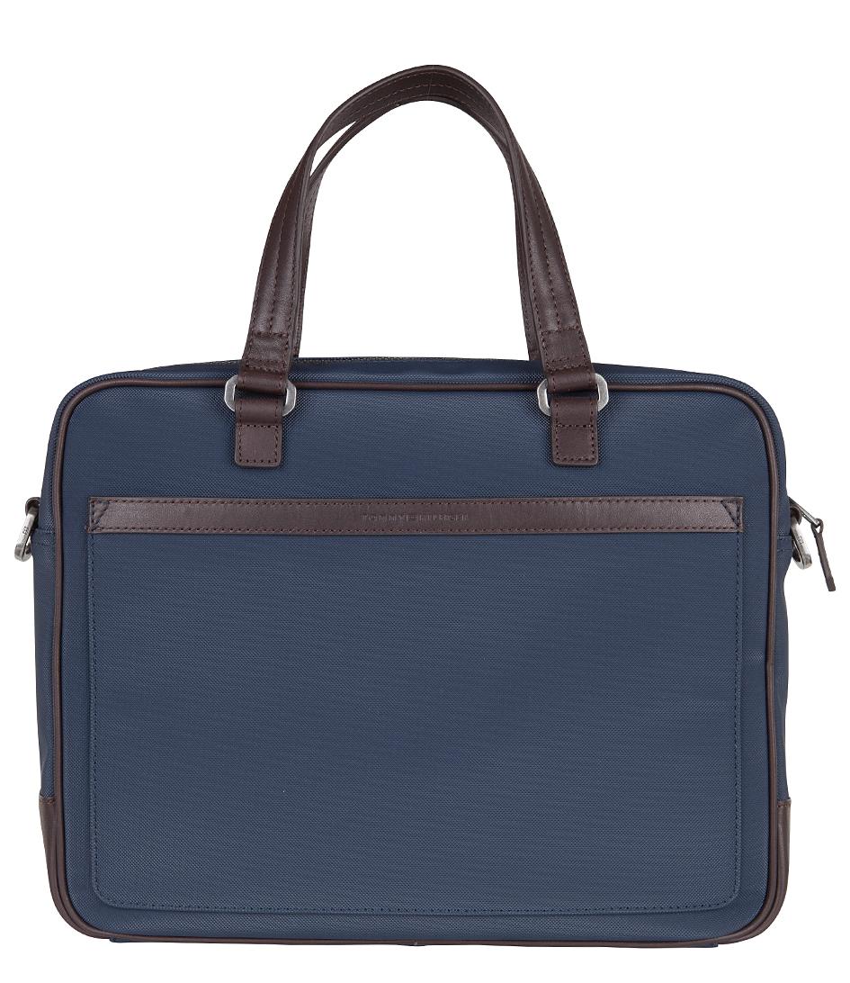 Tommy Hilfiger Laptoptassen Jaxon Computer Bag Blauw