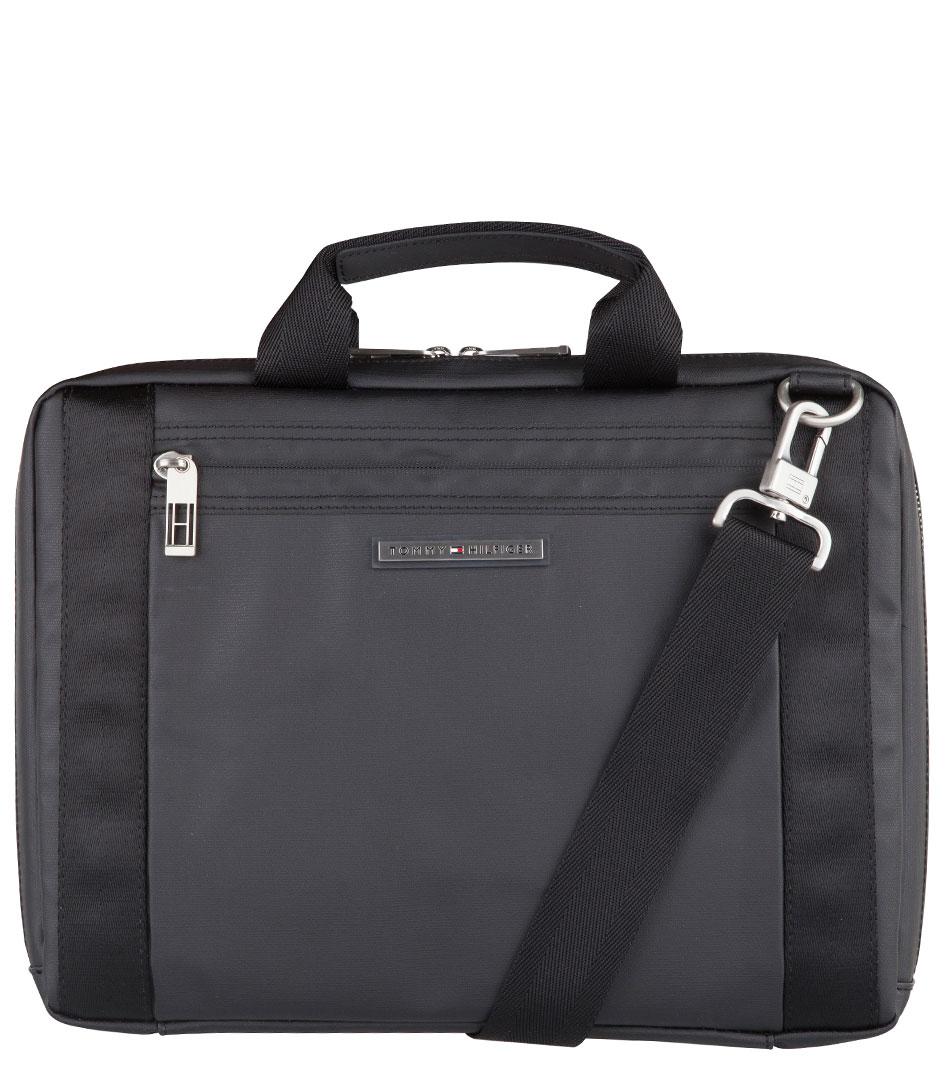 Tommy Hilfiger Laptoptassen Sheldon Computer Bag Zwart