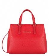 Valentino Handbags Superman Tote rosso