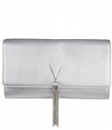 Valentino Handbags Divina Clutch argento