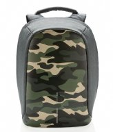 XD Design Bobby Compact Anti Theft Backpack 14 Inch camouflage green (657)