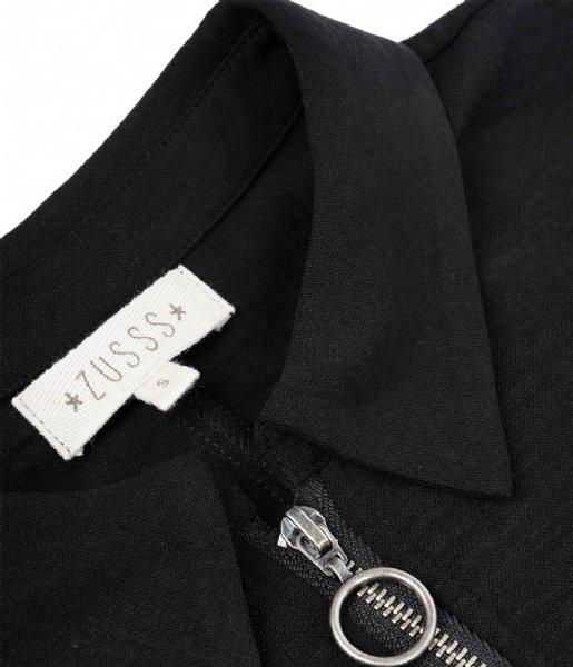 Zusss Jurk Sportief jurkje zwart