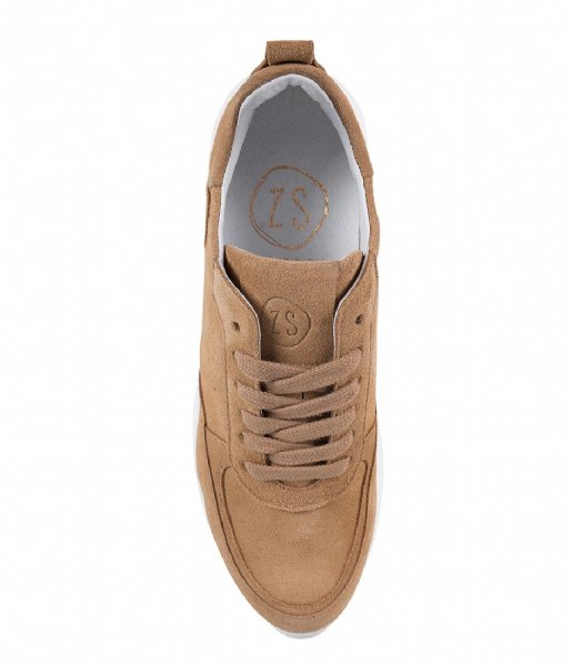 Zusss Sneakers Gave Sneaker light brown