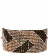 A Beautiful Story Willow Smokey Quartz Silver Bracelet silver colored