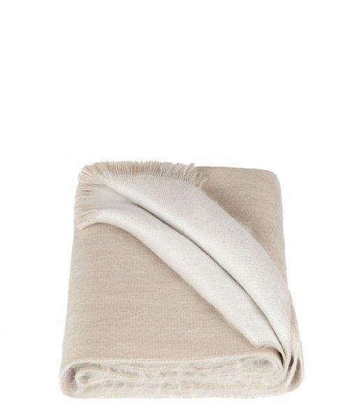 Alpaca Loca Sjaal Double Scarf beige white (15)
