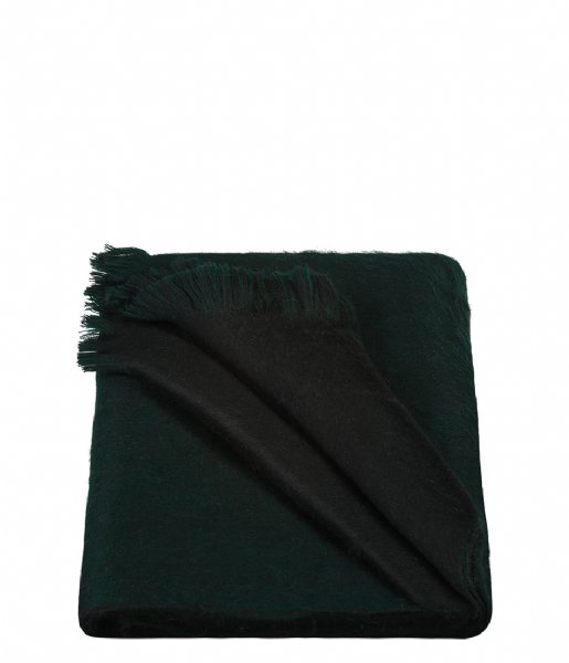 Alpaca Loca Sjaal Double Scarf forest green black (209)