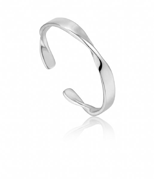 Ania Haie Ring AH R012-04H 925 Sterling Zilver Twister Zilver