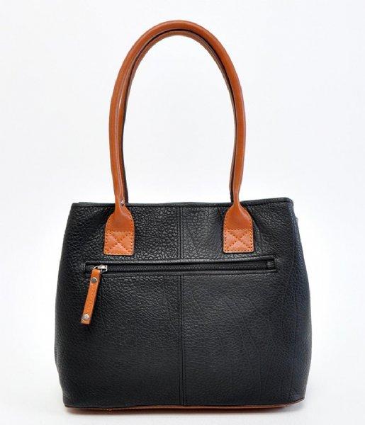 Berba Handtas Shopper Black (00)