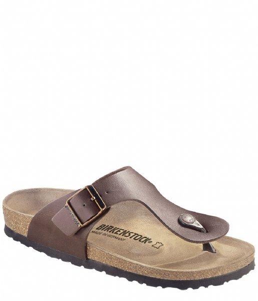Birkenstock Slippers Ramses regular Birko-Flor Dark Brown