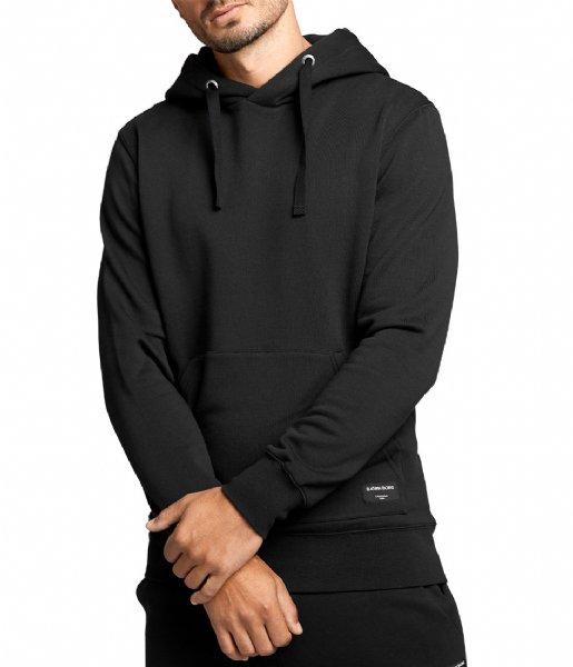 Björn Borg Nachtmode & Loungewear Hood Crew Black beauty (90651)