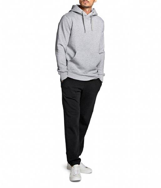Björn Borg Nachtmode & Loungewear Hood Crew H108BY Light grey melange (90741)