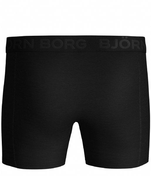 Björn Borg Boxershort Shorts Sammy Solids Core 2 Pack Black beauty (90651)