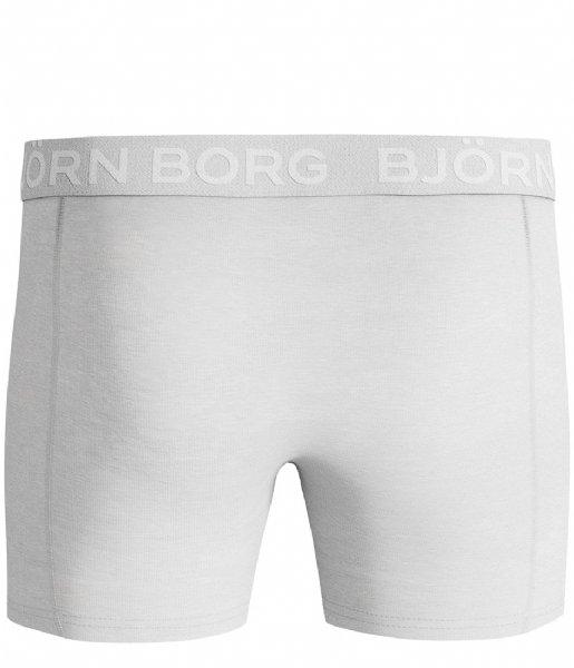 Björn Borg Boxershort Shorts Sammy Solids Core 2 Pack Brilliant white (00071)