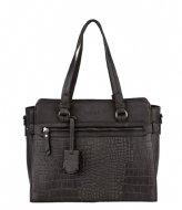 Burkely Burkely Croco Cody Handbag S Zwart (10)